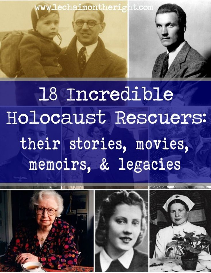 18 Righteous Holocaust Rescuers | Le Chaim (on the right)