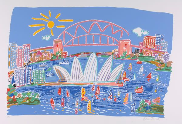 New Sydney Harbour, 1989 Ken Done