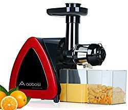 Buy this Aobosi Electric Slow Masticating Juicer Extractor,Slow Juicer AMR520 with deep discounted price online today.