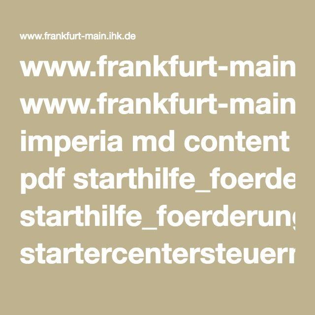 www.frankfurt-main.ihk.de imperia md content pdf starthilfe_foerderung startercentersteuern2015.pdf