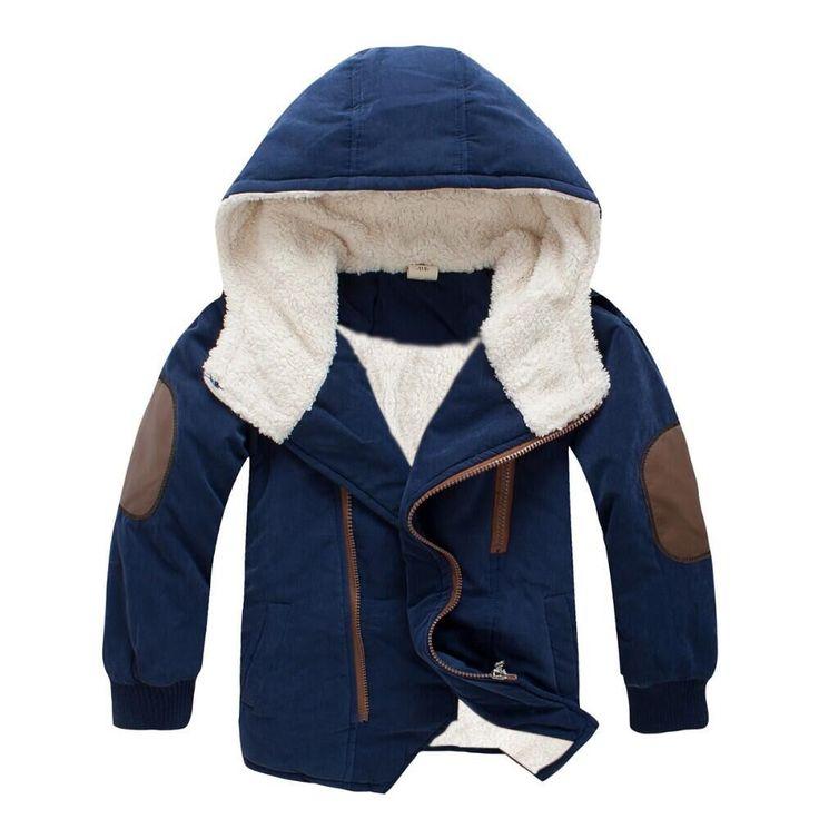 3-11Yrs Baby Boys Cotton Winter Fashion Jacket&Outwear,Children Korean Cotton-padded Jacket,Baby Boys Winter Warm Coat