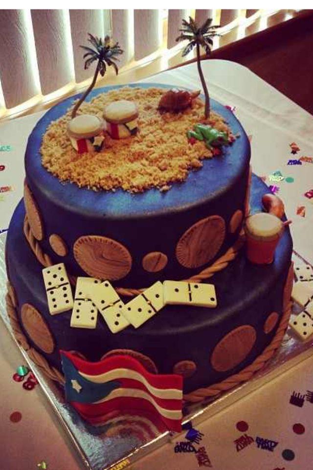 Puerto Rico Puerto Rican Boricua Theme Cake My