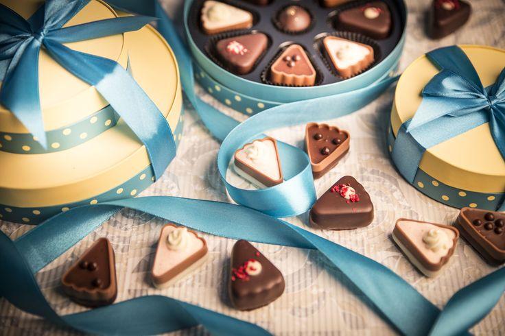 Słodki prezent ślubny