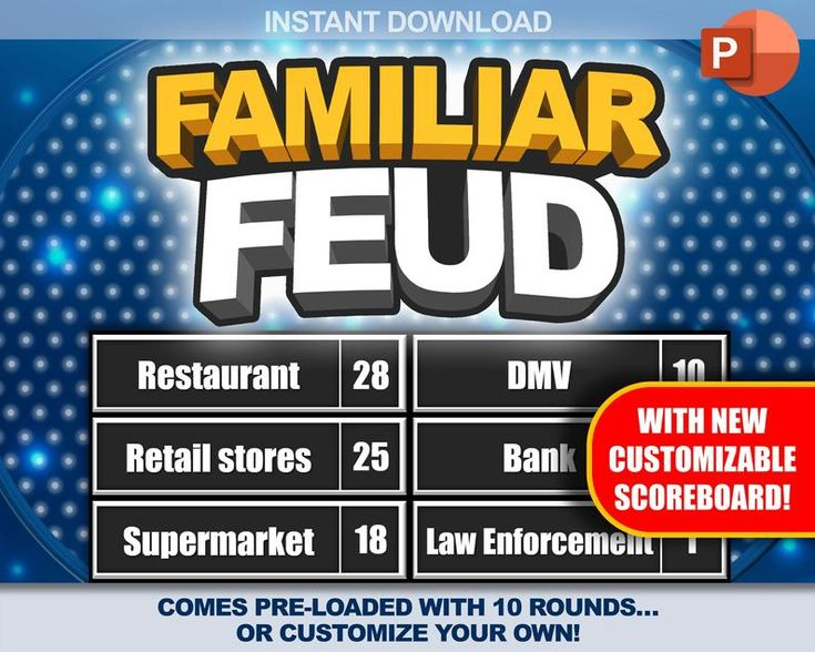 Familiar feud trivia party game download pc mac iphone