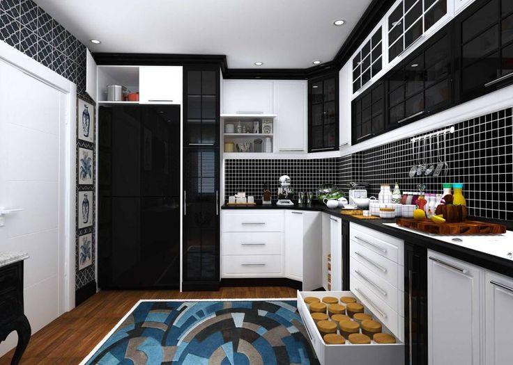 iç mimari tasarım mutfak (Kimden: GKHNERDGN ARCHİTECTURE OFFİCE)
