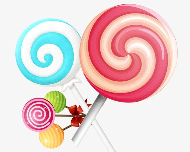 Cartoon Lollipop Candy Rainbow Sugar Png Transparent Clipart Image And Psd File For Free Download Clip Art Cartoon Lollipop