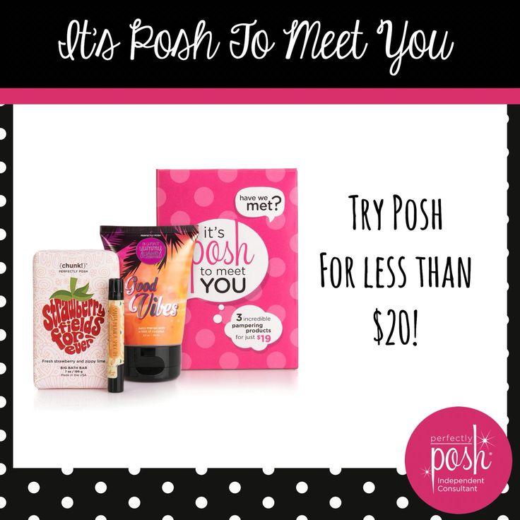 Perfectly Posh Quot Posh To Meet You Quot Set 19 Perfectly Posh