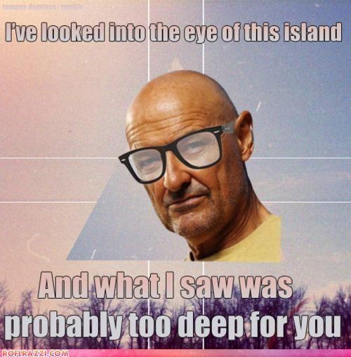John Locke - hipster! Badass