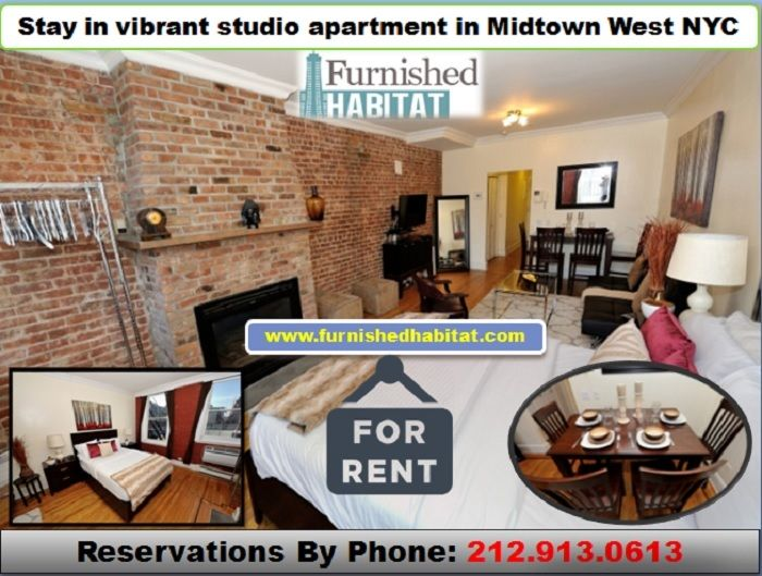 Are You Looking For The Nyc Top Most Fully Furnished Rental Apartments Near Timessquare Reservati Studio Apartment Apartment Fully Furnished Apartments