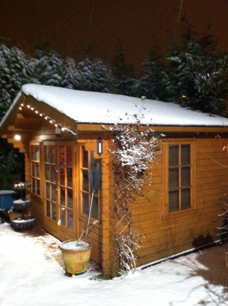 The Cock N Cider Pub Shed from