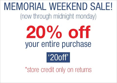 memorial day sales garden state plaza