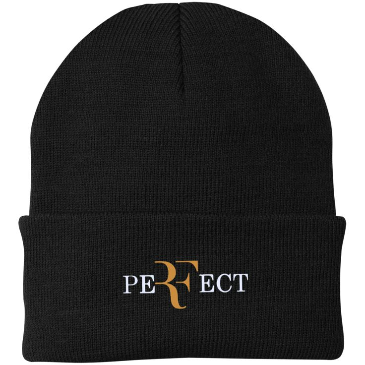 Perfect RF Roger Federer CP90 Port Authority Knit Cap