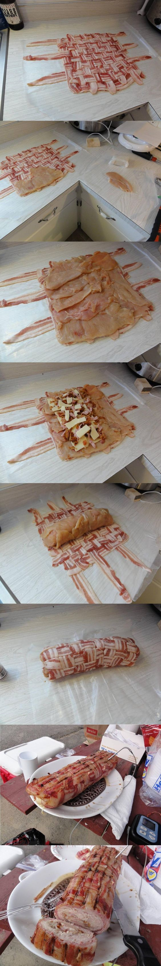 Chicken/Bacon Bomb!!: