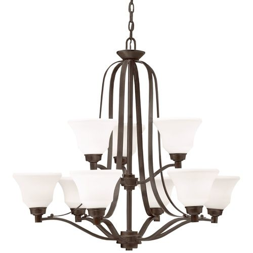 Kichler kk1784oz langford large foyer chandelier chandelier olde bronze at ferguson com