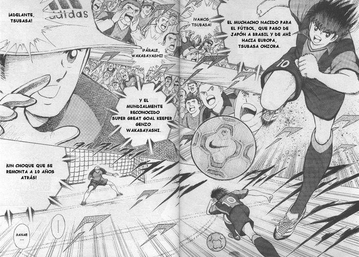 Captain Tsubasa Road to 2002 - MANGA - Lector - TuMangaOnline