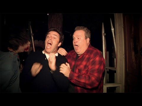 Ellen DeGeneres Sends Her Executive Producer Through 2 Haunted Houses With Eric Stonestreet