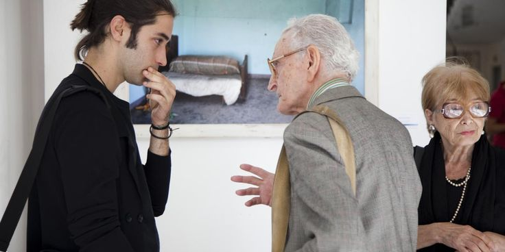 Karmil Cardone con il maestro Achile Pace.