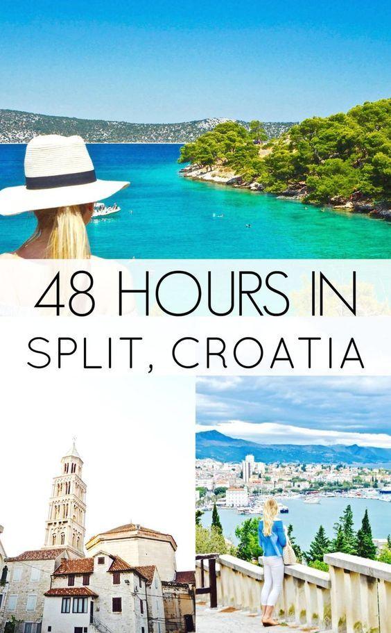 How to spend 48 hours in beautiful Split, Croatia!