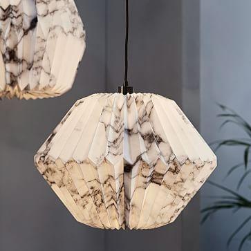 Paper lighting.