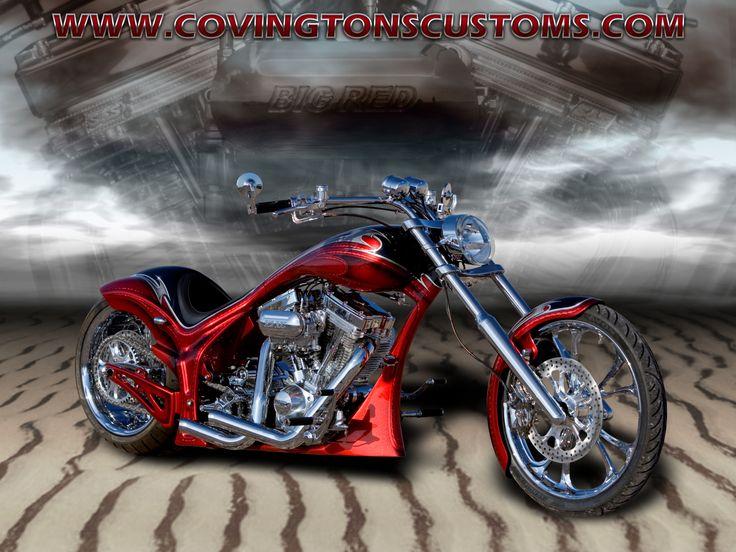 Covingtons Custom #Motorcycle WallPaper 55 #harley