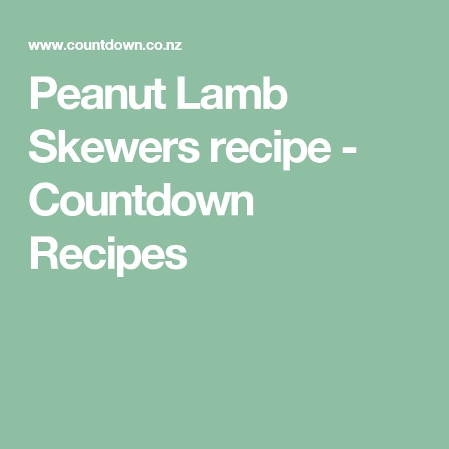 ... about Lamb Skewers on Pinterest | Lamb, Skewers and Chicken Skewers