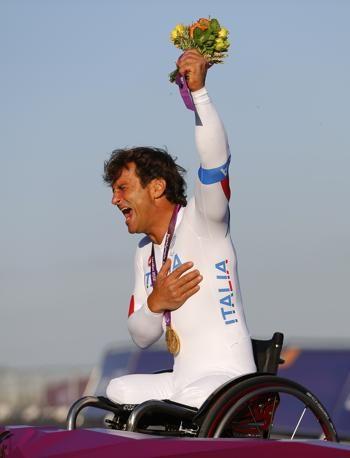 Gold medal, handbike
