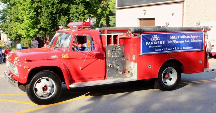 Mosinee wis fire department 4th of july parade 2014 for Department of motor vehicles stevens point wisconsin