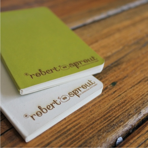 Eco friendly pocket notebooks www.robertsprout.co.za