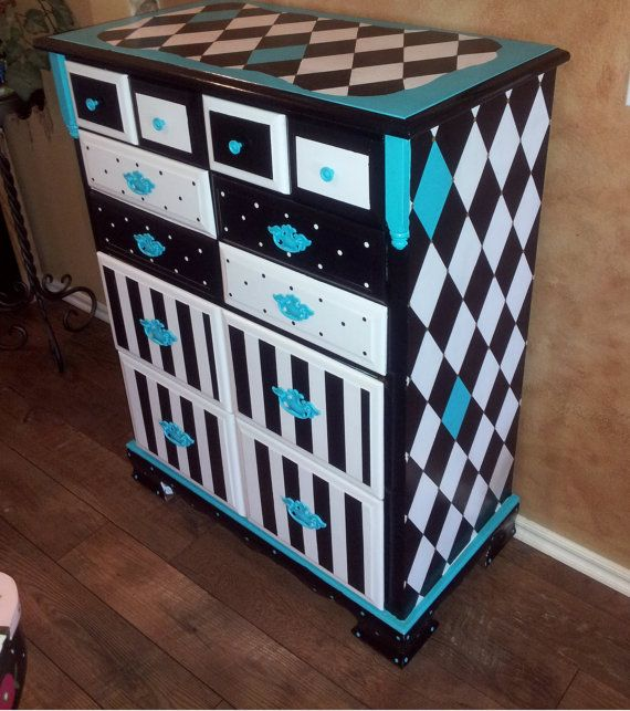 Top 25 best Funky painted furniture ideas on Pinterest Funky