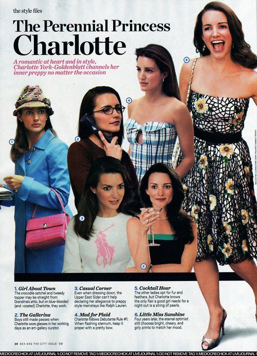 charlotte york-goldenblatt's wardrobe, get in my closet.