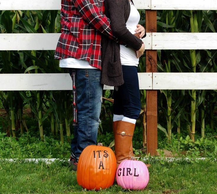 Fall Maternity Gender Reveal Photos . Photo Ideas. Gender Photography.
