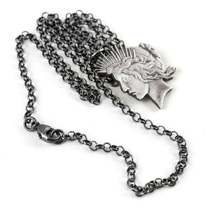 peace dollar pendant