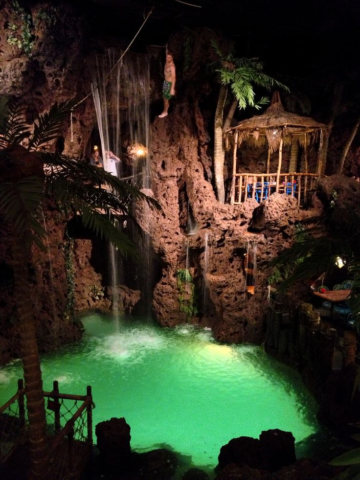 Casa Bonita is a Mexican restaurant famous for out it's outlandish décor and, of course, cliff divers for your dinner entertainment. Denver, Colorado, USA
