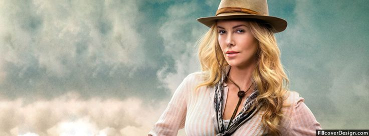 Charlize Theron a million ways to die in the west Facebook Covers | FBcoverdesign.com