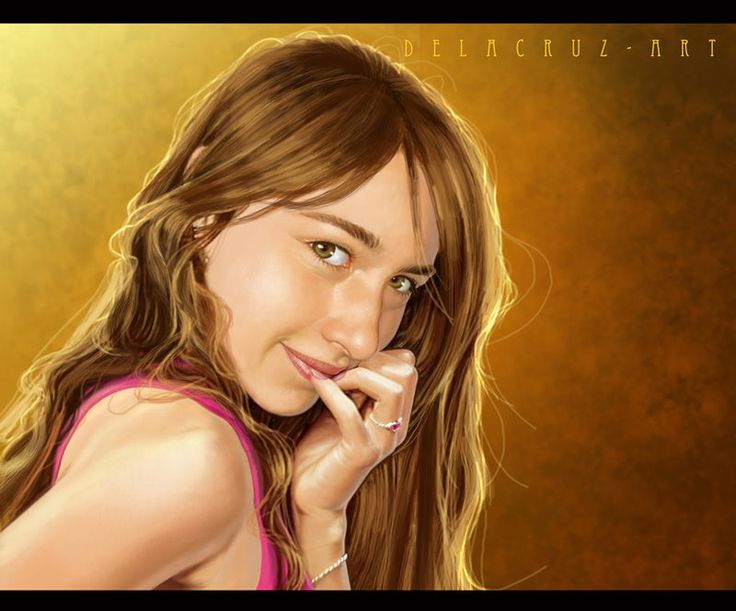 Portrait by delacruz-art on DeviantArt