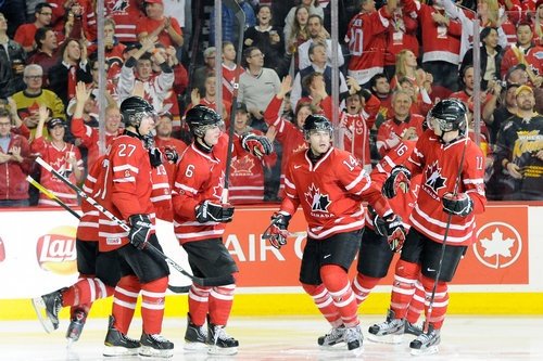 World Junior Hockey Championships 2013 Day 6 Scores USA Advances Canada Tops Russia Emil Molin Scores Again - http://www.sportsviews.com/blog/108110/World_Junior_Hockey_Championships_2013_Day_6_Scores_USA_Advances_Canada_Tops_Russia_Emil_Molin_Scores_Again