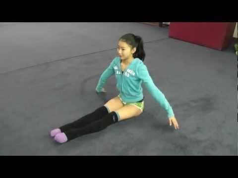 Rhythmic Gymnastics Feet Training with Elena for Ultimate Rhythmic Gymnastics 新体操爪先練習 - YouTube