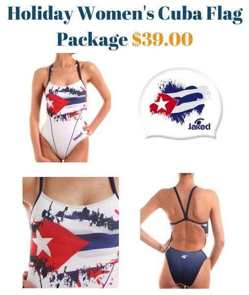Holiday Women's Cuba Flag Package