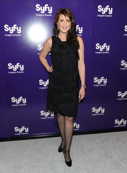 Amanda Tapping | Amanda Tapping Actress Amanda Tapping attends the 2010 Syfy Upfront ...