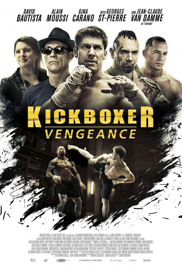 KICKBOXER: VENGEANCE movie review starring Dave Bautista, Georges St. Pierre, Gina Carano, Alain Moussi, and Jean-Claude Van Damme!