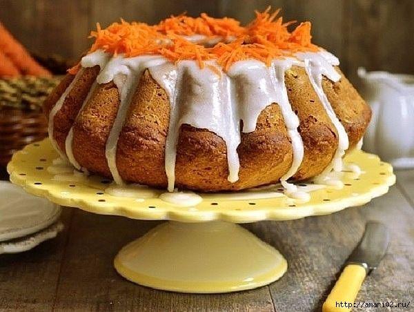 Кекс из морковки с орехами.. Обсуждение на LiveInternet - Российский Сервис Онлайн-Дневников