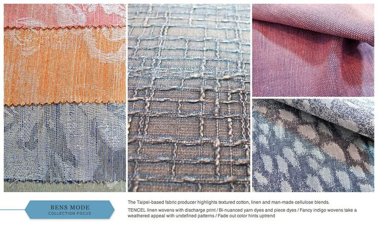 EXPO-TEX - The #1 textile online exhibition - Trends - Texworld USA - S/S 15 collections