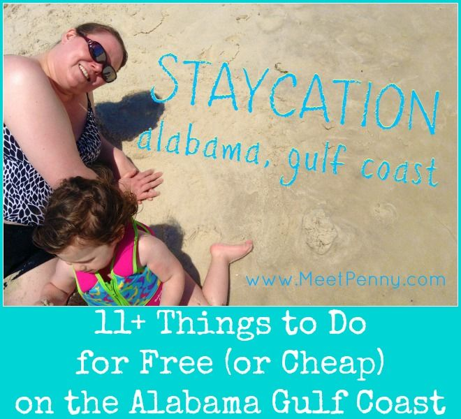 Staycation: free and cheap family activities in Gulf Shores, Orange Beach, Dauphin Island, and Mobile, Alabama