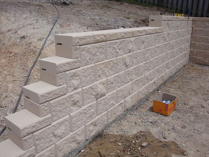17 best ideas about concrete block retaining wall on for Concrete block basement walls