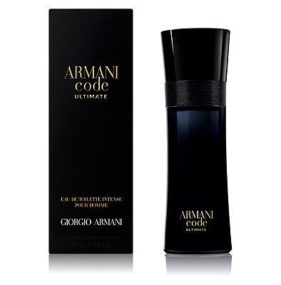 Armani Code Ultimate Eau de Toilette 75ml 10144439 256 Advantage card points. ARMANI Code Ultimate Eau de Toilette 75ml A prestigious, more luxurious interpretation of the classic ARMANI Code Fragrance and presented in polished black glass, enhanced b http://www.MightGet.com/april-2017-1/armani-code-ultimate-eau-de-toilette-75ml-10144439.asp