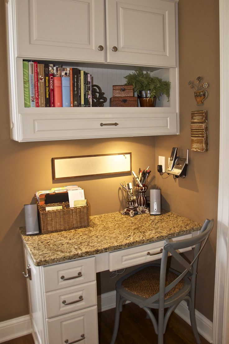 Corner kitchen desk pull out drawer in top cabinet would for Best place to get kitchen cabinets
