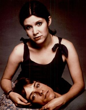 Carrie Fisher and Mark Hammill