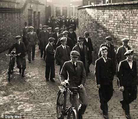 England, factory workers