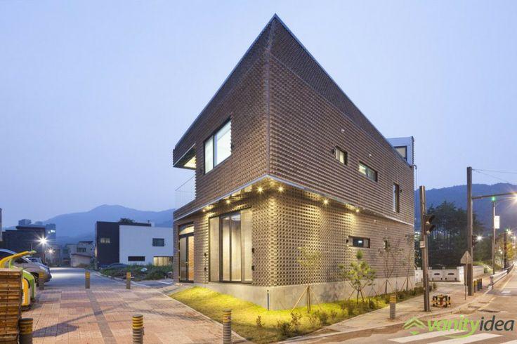 basalt brick house