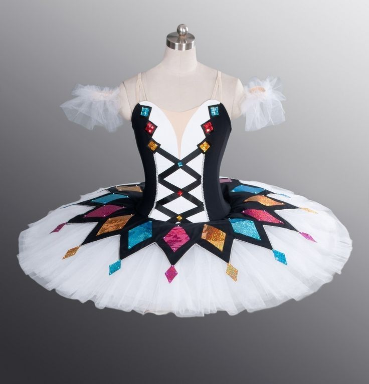 Harlequinade Classical Professional Ballet Tutu for Competition & Festival